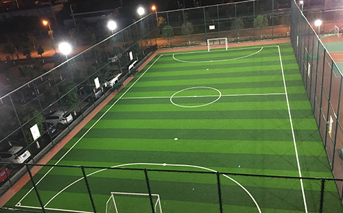 成都铁路局足球场LED体育照明工程项目