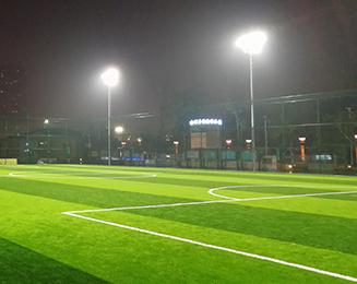 四川南充西河体育公园足球场体LED育照明项目