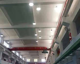 贵阳机场羽毛球馆和兵乓球馆LED照明项目