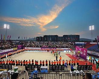 南京2017全国沙滩排球大满贯LED体育照明项目