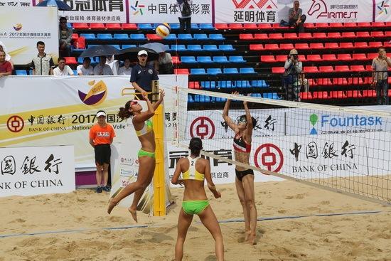 2018全国沙滩排球大满贯(南通站)即将开战,专业的赛事引人期待?