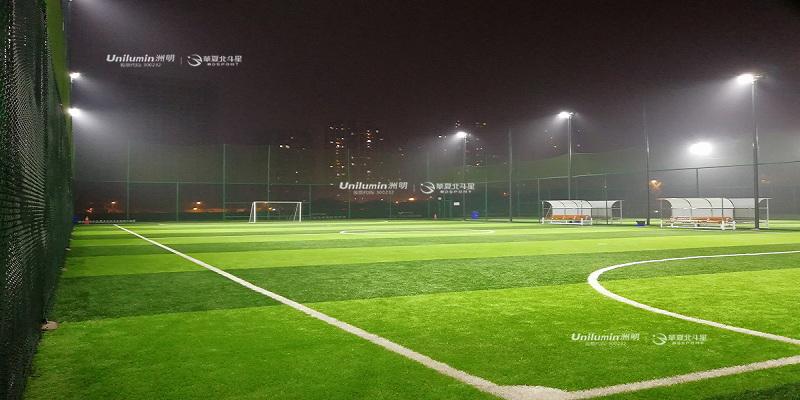 足球场照明中的独特设计,足球场四角照明优缺点简要分析!